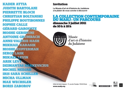 La Collection contemporaine du MAHJ: un parcours