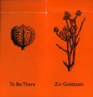 Zvi Goldstein: To Be There