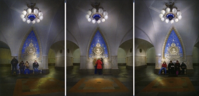Cathedrals for the Masses, Lena Liv: Moscow Metro