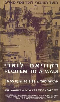 Requiem to a Wadi