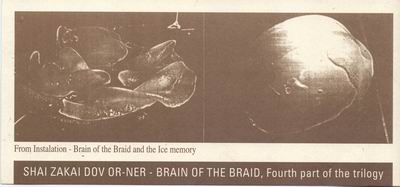 Shai Zakai, Dov Or Ner - Brain of the Braid, Fourth Part of the Trilogy