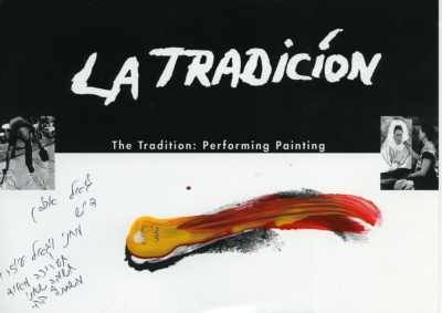 The Tradition: Performing Painting