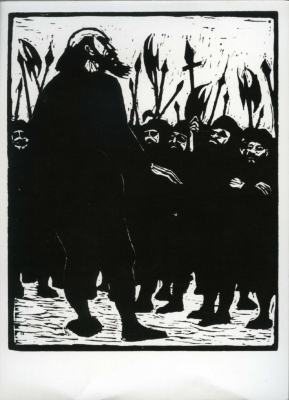 Woodcuts for 'Michael Kolhaas' by Heinrich von Kleist