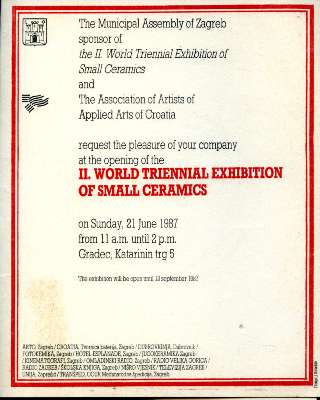 World Triennial Exhibition of Small Ceramics