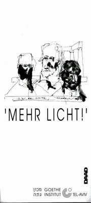 'Mehr Licht!' (More Light)