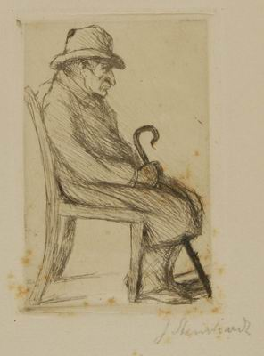 Seated Grandfather