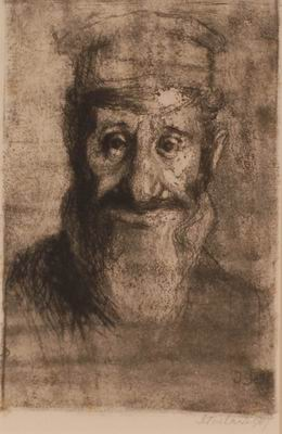 Head of a Jew (large)