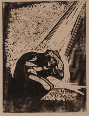 The Call, illustration to The Book of Jonah, Jewish Publication Society, Philadelphia, 1952