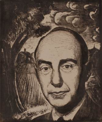 Adlai Stevenson (commissioned by S.R. Schwartz, Chicago)