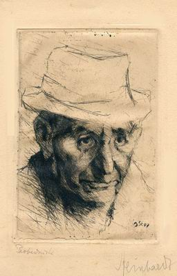 Grandfather in a Felt Hat