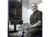 Israel Paldi in the Atelier