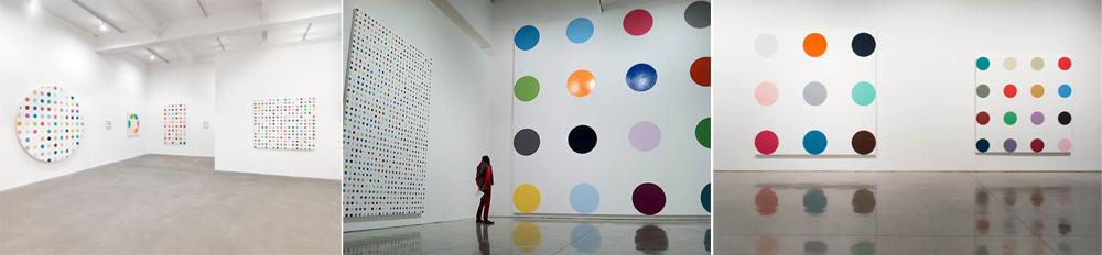 דמיאן הירסט, סדרת ציורי הנקודות מהשנים 1986–2012 , גלריה גגוזיאן, ניו-יורק