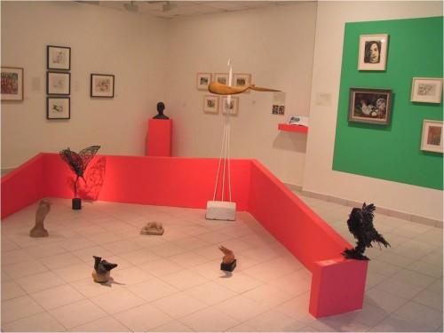 """מתוך התערוכה """"פינת חי"""" (אוצרת: סיגל ברקאי). 2007. צילום: ?"""