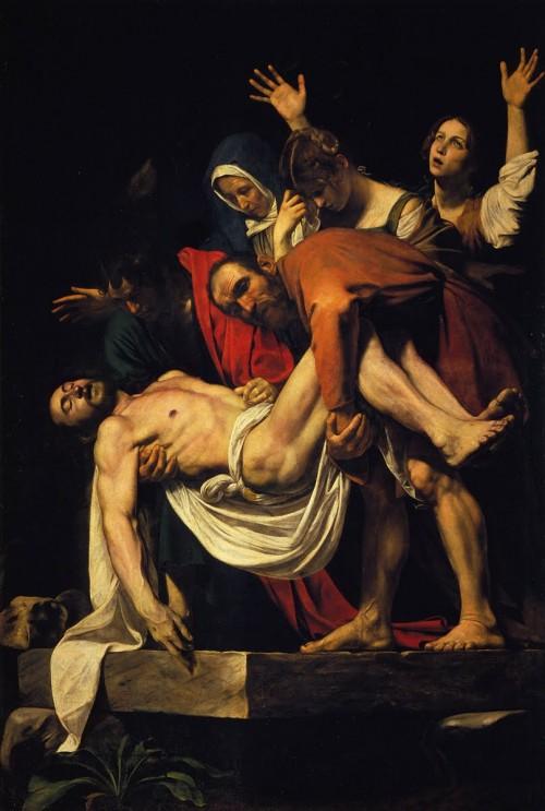 """קראוואג'ו, """"ההורדה מהצלב"""", 1602–1604"""