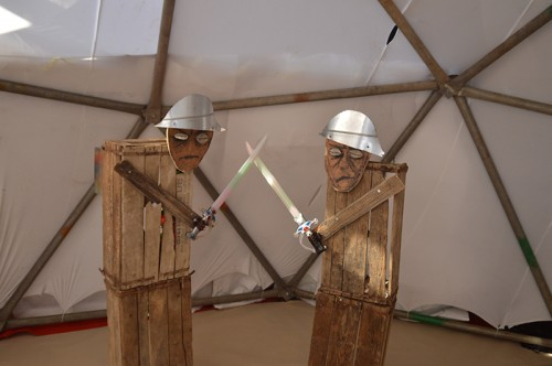 אוהל נודד, תנועת תרבות. צילום: זואי ברקן