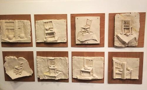 עבודות מסדנת אמנות באגף הנוער, מוזיאון ישראל, בהנחיית אלדד שאלתיאל