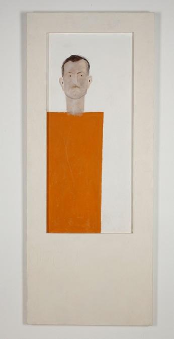 """מיכאל גרוס, """"אבא"""", 1987. צילום: מוזיאון תל-אביב לאמנות"""