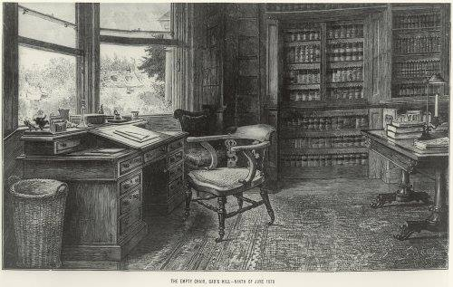 סמואל לוק פילדס. הכסא הריק 1870