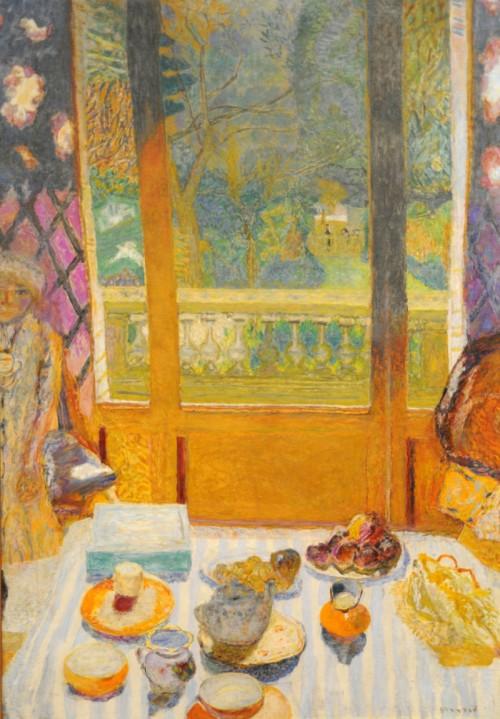 פייר בונאר, ״חדר אוכל המשקיף לגינה (חדר ארוחת הבוקר)״, שמן על בד, 1930
