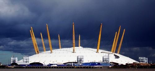 O2 ארנה, צפון גריניץ׳ ארנה, לונדון, כיפת האיצטדיון שעל שפת התמזה