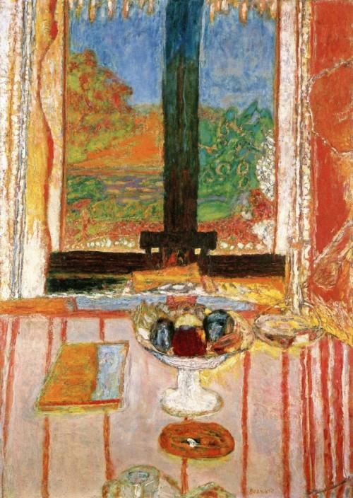 פייר בונאר, שולחן בקדמת החלון, 1934