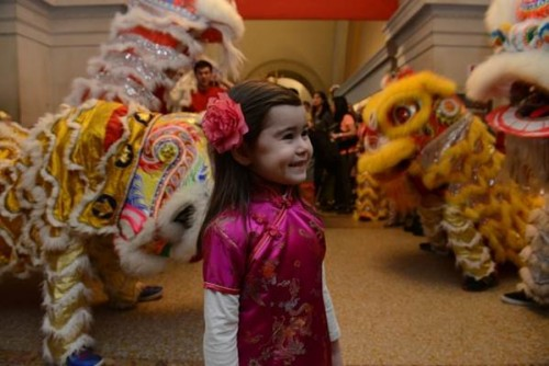 חגיגות ראש השנה הסיני, פברואר 2014, מוזיאון המטרופוליטן, ניו-יורק