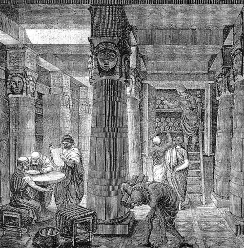הספרייה הגדולה של אלכסנדריה