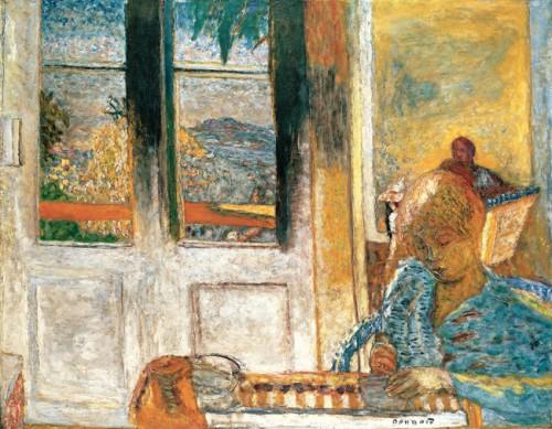 פייר בונאר, ״חלון צרפתי״, שמן על בד, 1932