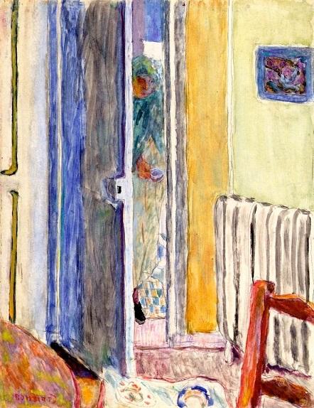 """פייר בונארד, """"מארת נכנסת לחדר"""", 1942"""