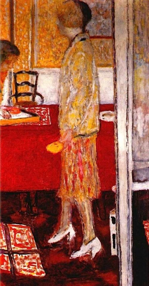 """פייר בונאר, """"מארת בחדר האוכל"""", שמן על בד, 1933"""