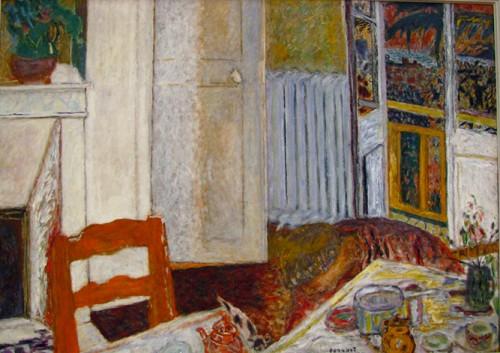 """פייר בונאר, """"הפנים הלבן"""", שמן על בד, 1932"""