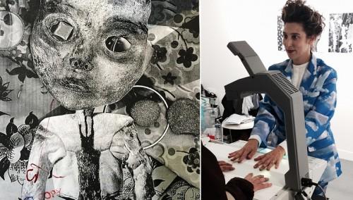 עפרי כנעני, (D (Command + Duplicate⌘, מיצג השתתפותי ביריד פיאק, פריז, 2014