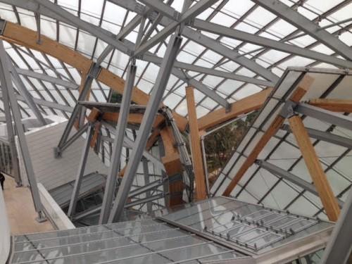 מוזיאון לואי ויטון, פריז, צרפת. צילום: רחל שליטא